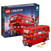乐高创意百变高手系列 10258 伦敦巴士 LEGO 积木玩具收藏礼物