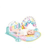 婴幼儿玩具 多功能健身架脚踏琴玩具宝宝儿童早教益智礼盒装生日礼物 长方形健身架.