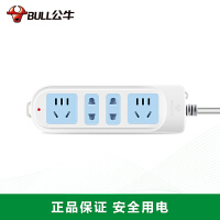 公牛插座 插排拖线板 电源插座接线板1.8米GN-101