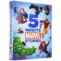 【首页抢券300-100】Marvel 5-Minute Stories 漫威五分钟英语故事书合集 英文原版进口绘本图书