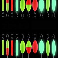 夜光七星漂 夜光流线型圆柱形橄榄七星漂鱼漂传统钓鱼浮漂浮子套装HW