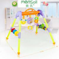 婴幼儿玩具 婴儿健身架玩具床头摇铃宝宝儿童早教益智礼盒装生日礼物 8781