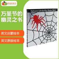 美国进口万圣节的幽灵之书 Lift-The-Flap Shadow Book Halloween 翻翻页精装3-7岁
