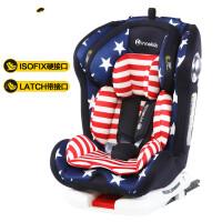 �和�安全座椅汽�用0-12�q����可坐可躺旋�D座椅接口0-4周