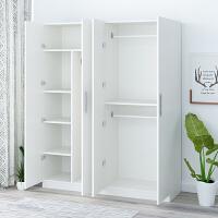 衣柜简约现代经济型组装衣柜实木板式租房大衣橱简易卧室柜子T 50深140宽180高备注5种颜色