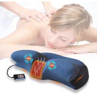 慢回弹记忆枕颈椎枕头非修复颈椎专用枕头电动按摩热敷枕护颈枕芯 (按摩+热疗)牛头枕+3药片