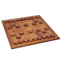 中国象棋套装 香椿木实木包边象棋盘6分实木象棋子