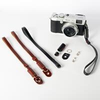 真皮手腕带单反/微单相机手绳带手绳适用索尼 富士 徕卡 佳能腕带