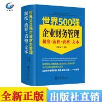 2019版 世界500强企业财务管理制度 流程 表格 文本大全 企业财务管理实用工具书