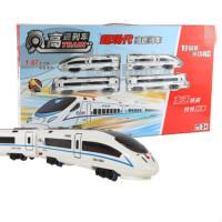 和谐号高铁轨道火车玩具火车模型高铁轨道玩具 和谐号超大盒 送电池螺丝刀 官方标配
