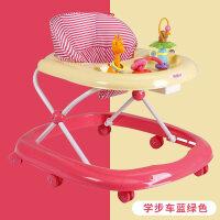 婴儿学步车多功能防侧翻宝宝学行车7-18个月可折叠