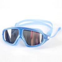 大框电镀高清防水防雾泳镜成人男女士通用游泳眼镜时尚装备游泳镜 支持礼品卡支付