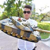儿童玩具装甲车模型男孩3-6岁遥控坦克可发射履带式充电亲子对战