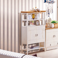 尚满 地中海系列客厅家具储物装饰柜 杂物柜A9202E 饰品柜  多功能置物架