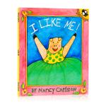 英文原版绘本 我喜欢我!I like me! 和自己做朋友 照顾自己 健康习惯养成 名家Nancy Carlson 幼