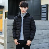 棉衣男士外套冬季2017新款韩版修身短款冬天加厚袄子潮流男装