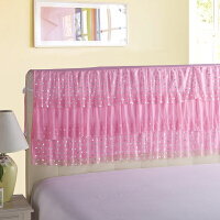 伊迪梦家纺 韩版蕾丝公主风床裙单品床罩 1.2/1.5/1.8/2m米单双人床头罩SJ201