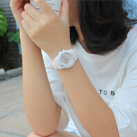 户外手表中学韩版儿童防水夜光石英表可爱少女心时尚硅胶款小学生手表