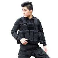 20180321063134449 迷彩战术背心 军迷户外作战 男式迷彩战术马甲防刺军迷装备 均码
