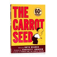 胡萝卜种子60周年纪念版The Carrot Seed 英文原版绘本 美国百本阅读书单 吴敏兰推荐书单名家Crocke