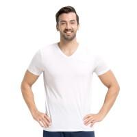 小护士 男士短袖背心 男士T恤打底衫背心V领打弹力经典百搭底衫SSD1503
