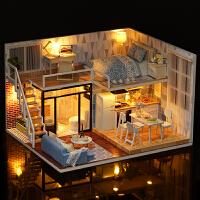 智趣屋diy手工创意房子模型拼装大别墅艺术玩具屋迷你小屋子女生