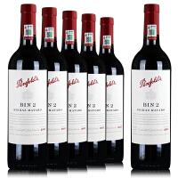 奔富bin2红酒 澳洲 原瓶进口干红葡萄酒 2012年750ml*6 整箱