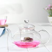 耐热玻璃茶具带过滤玻璃泡花茶壶 花草茶壶耐高温