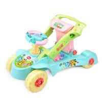 婴儿学步手推车宝宝助步车 多功能可变形可调速儿童车玩具 可调速两用变形学步车