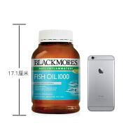 【网易考拉】【调节血压】BLACKMORES 澳佳宝 原味深海鱼油 400粒