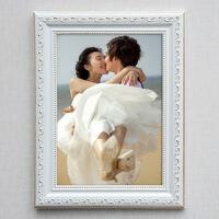 相框摆台创意欧式实木挂墙像框a4 16 24 30寸婚纱照片框画框定做