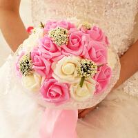 新娘手捧花结婚仿真婚礼玫瑰花束影楼拍摄道具婚庆用品012