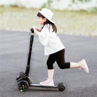 儿童滑板车小孩滑滑车宝宝玩具2-3-6岁滑行车3三轮闪光踏板车