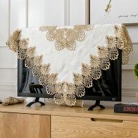 电视机罩 布艺电器欧式液晶防尘罩壁挂式台式55英寸60盖布盖巾 白领生活