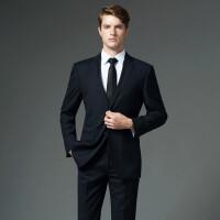 西服套装男士修身商务职业正装四季职业装西装新郎结婚礼服三件套