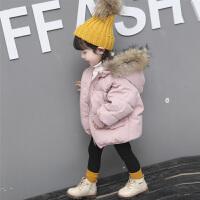 女宝宝羽绒婴幼儿洋气冬装外套