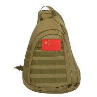 斜挎包战术背包单肩包男女新款户外百搭大容量鞍袋胸包 20升