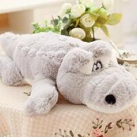 大鳄鱼公仔睡觉抱枕玩偶毛绒玩具大号布娃娃情人节礼物生日女生