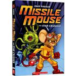 英文原版 The Star Crusher Missile Mouse 1 进口绘本全彩漫画图画书 儿童桥梁书 小学课