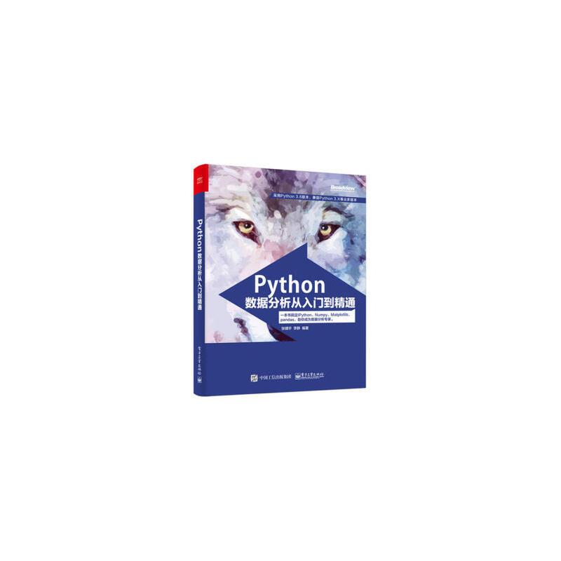 Python数据分析从入门到精通 Python语言编程教程书籍 Python数据分析语法工具书 Python数据分析入门