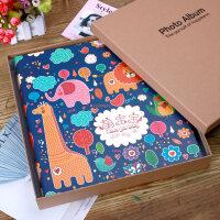 家庭相册影集插页式塑封相册本6寸400/800张宝宝成长纪念创意礼物 +礼盒