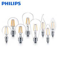飞利浦LED灯泡2.3W4.3W7.5W暖白色黄光古典灯泡装饰灯泡球泡尖泡椒泡拉尾泡节能灯