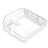 浴室开关保护罩 防水盒86型自粘贴式开关罩防溅盒家浴室卫生间插座保护盖