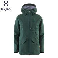 Haglofs火柴棍女款户外运动防风防水透气保暖舒适夹克603318
