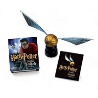 哈利波特金飞贼贴纸包 英文原版 Harry Potter Golden Stitch Sticker Kit Runn