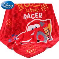 迪士尼Disney赛车总动员纱布浴巾 纯棉婴儿童浴巾 正方形 新生儿