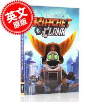 [现货]瑞奇与叮当 游戏艺术画册设定集 英文原版 The Art of Ratchet & Clank 精装大开本 S