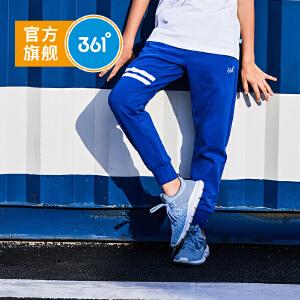 361° 361度童装 男童裤子中大童裤子男童针织长裤 K57123021