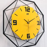 钟表挂钟客厅现代简约时钟个性创意时尚表家用大气装饰石英钟欧式