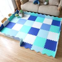 宝宝拼接围栏婴儿童爬行垫游戏毯拼接泡沫地垫爬爬垫